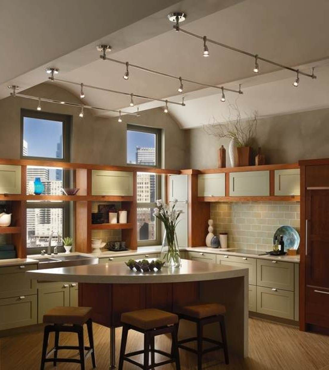 decorative track lighting kitchen kitchens painted orange best 25 43 ideas on pinterest