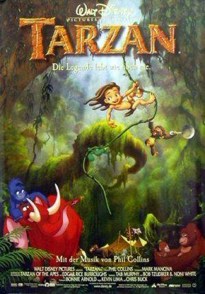 Tarzan Poster from Germany DISNEY39S TARZAN Pinterest