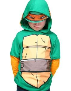 Rock out in  costume hoodie it   an easy halloween idea also boys tmnt  am mike pinterest rh