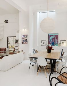 Friendly swedish home with  distinctive design touch in stockholm also rh za pinterest