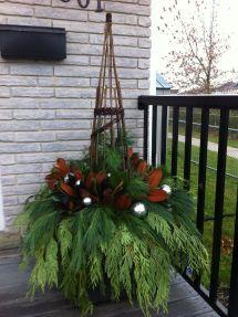 Winter Planter Gardening Ideas