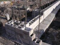 retaining wall footing rebar cinder block - Google Search ...