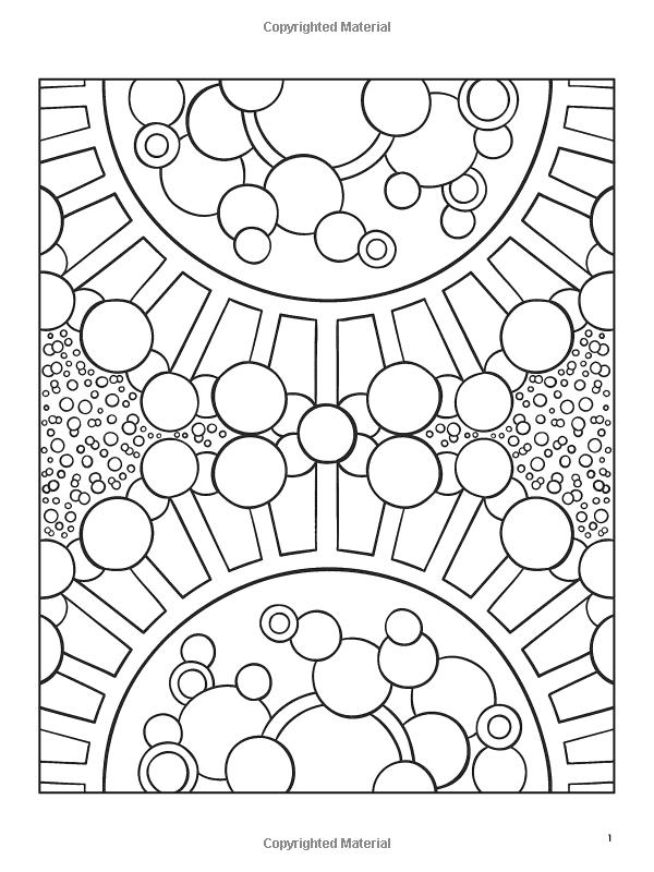 Organic Designs Coloring Book (Dover Coloring Books
