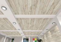 White Wood Ceiling Panels | Integralbook.com
