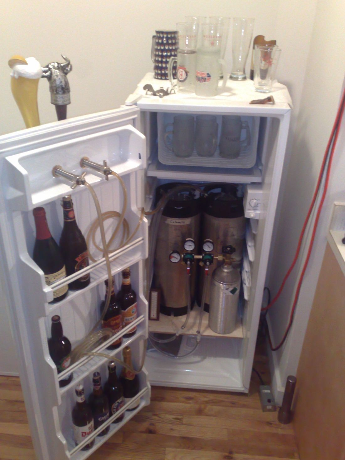 Build your own kegerator home brew pinterest