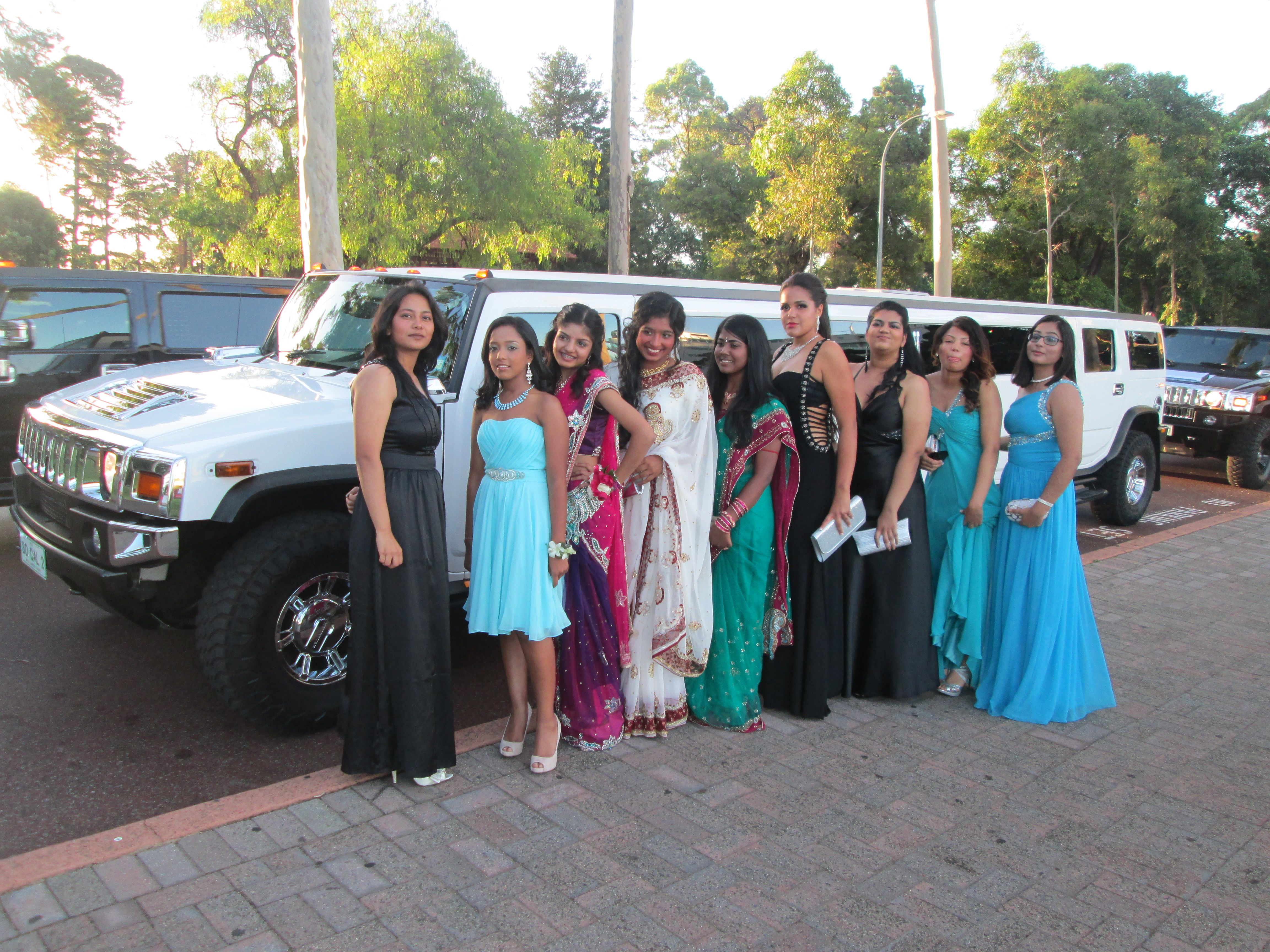 School Ball Hummer Limo School Ball Limos Perth