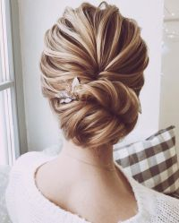 Unique wedding hairstyle will never go out of style | updo ...