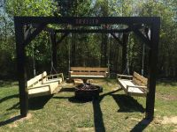 fire pit with swing - Google Search | Garden and Outdoor ...