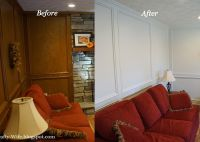 judges painted paneling before and after | A Crafty Wife ...