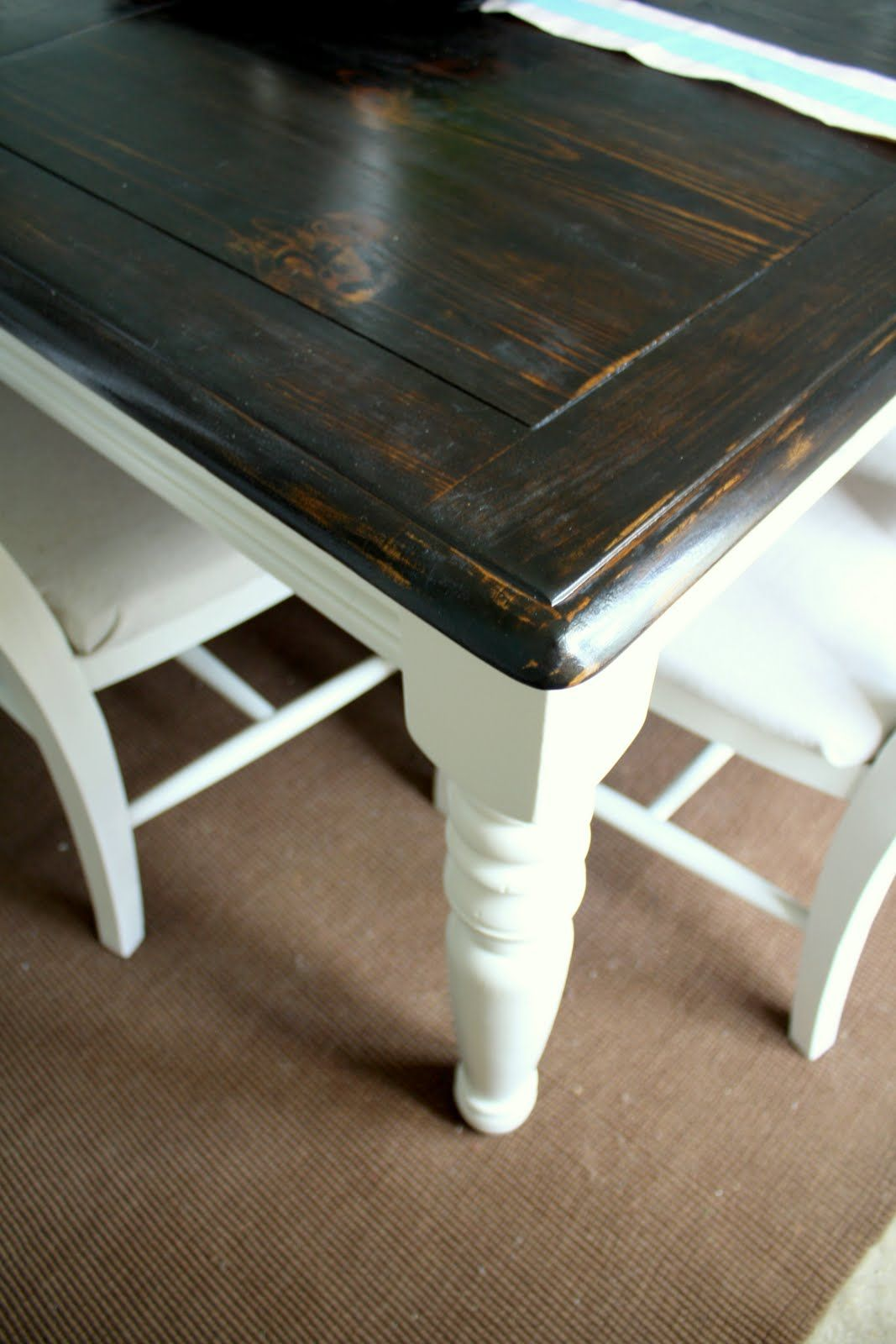 Refurbished Dining Tables on Pinterest  Painted Table