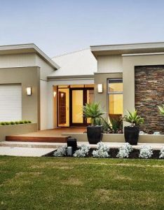 Modern render and brick facade single storey google search house exterior pinterest first story also rh