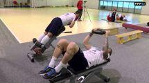 En Salle De Musculation Avec L'equipe France