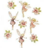 Flower fairy wall stickers | beth's room | Pinterest