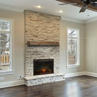 Vail - Wood Mantel Shelf - Fireplace Mantel Shelves ...