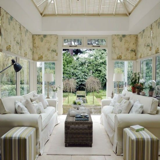 Create A Classic Garden Room Conservatory Decorating Ideas