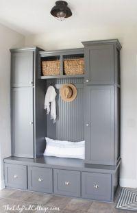 Best 25+ Mudroom cabinets ideas on Pinterest | Mudroom ...