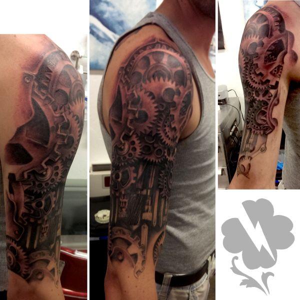 Gear Tattoo Design Gears Steampunk