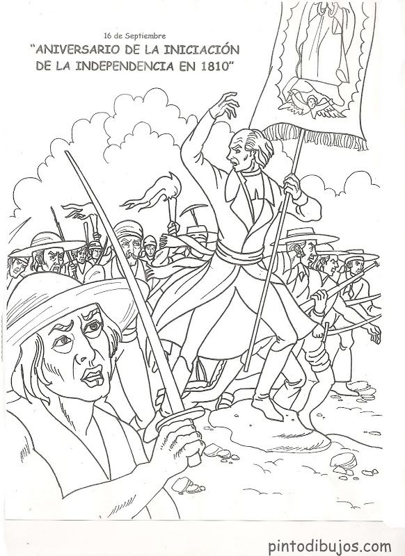 Pinto Dibujos: Independencia de México