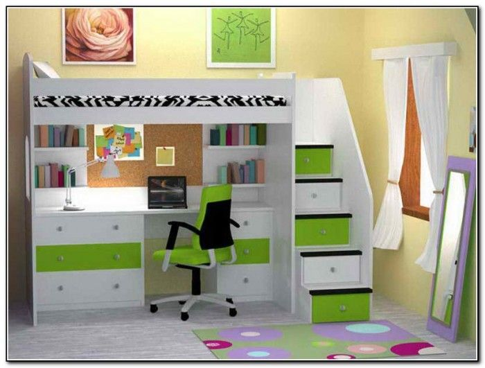 childrens bunk beds with desk  Google Search  Desk Beds