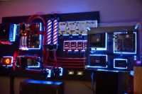 Wall mounted PC. | Custom pc, Wall mount and Pc cases