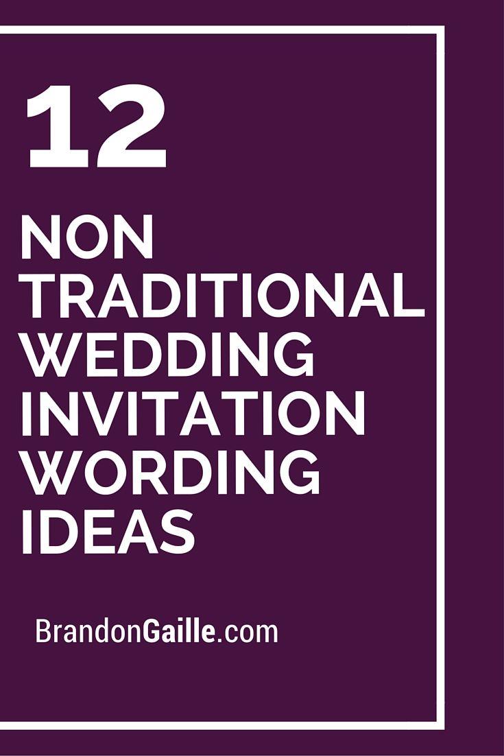 Traditional Wedding Invitation Wording Examples