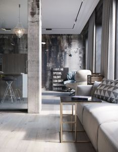 Home designing via chic and cozy cosmopolitan lofts homedesigning also industrial loft behance gravityhomeblog instagram rh pinterest