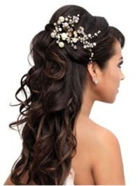 Pretty Quinceanera Hairstyles for Woman : Simple Hairstyle