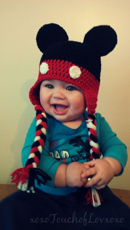 Free Hat Pattern Crochet Mouse Mickey