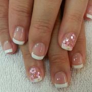 simple french nail design