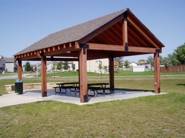 Picnic Shelter Plans Winwood Park - City Of Gardner