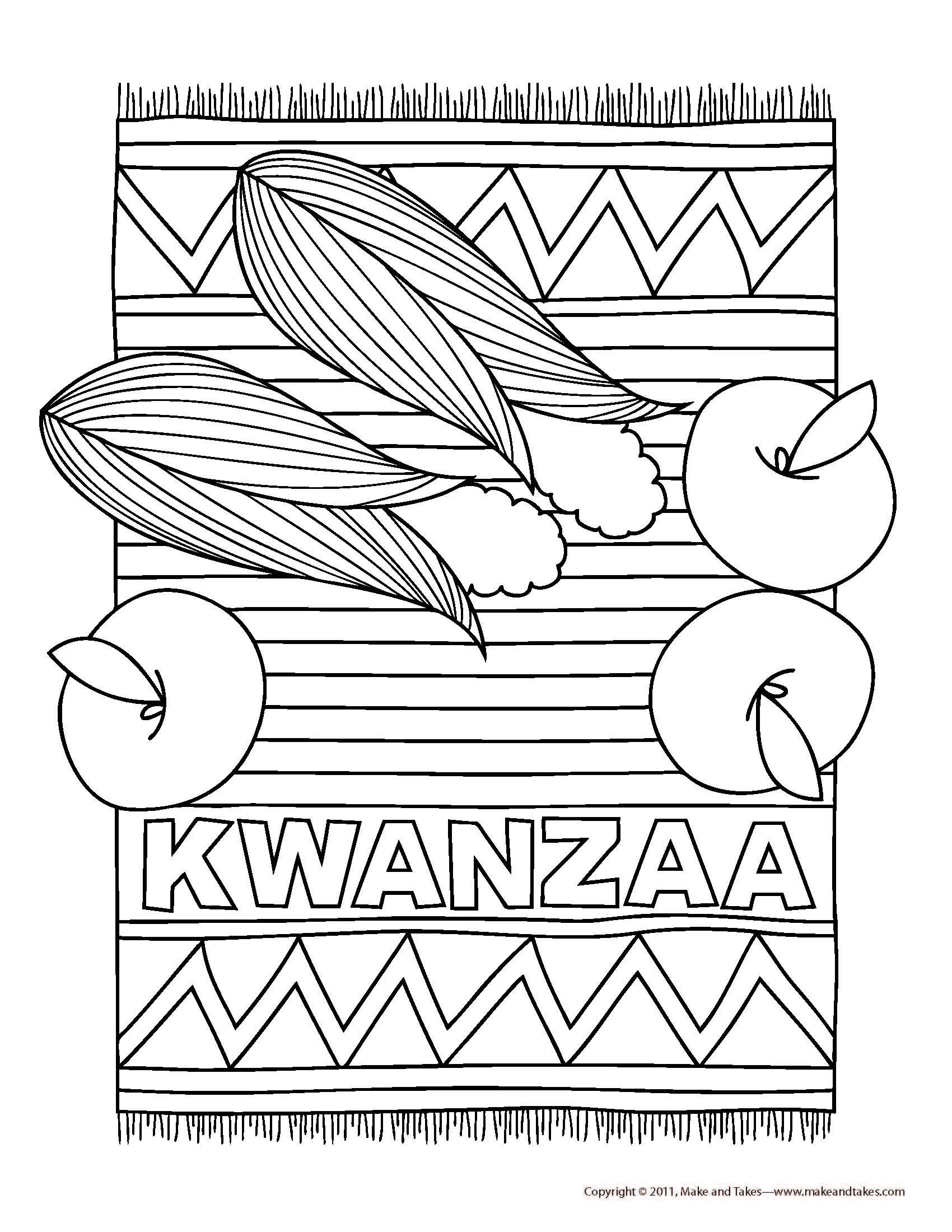 Kwanzaa Colouring Page Find More Information About Kwanzaa At Fun