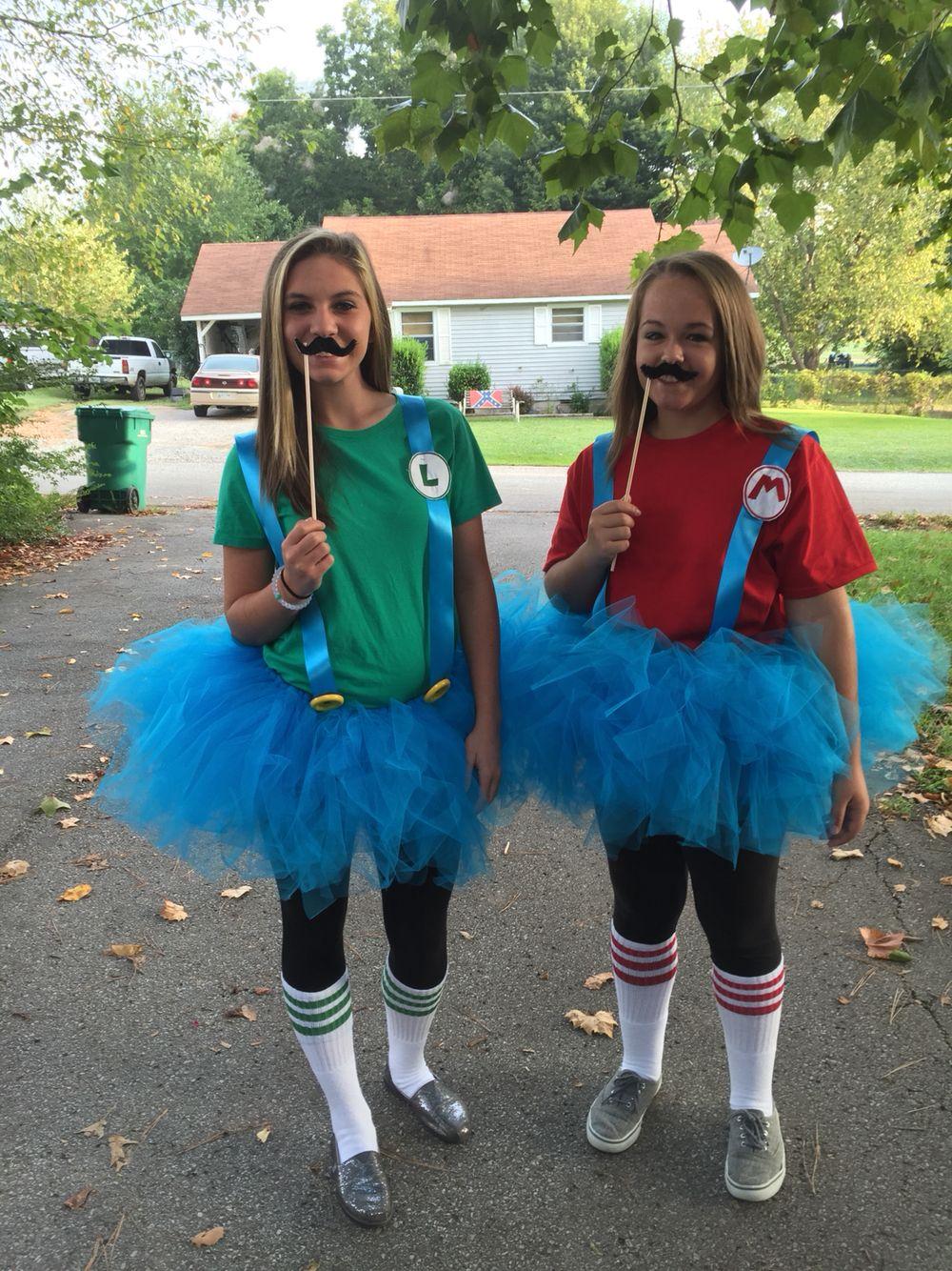 Twin Day Ideas Girls
