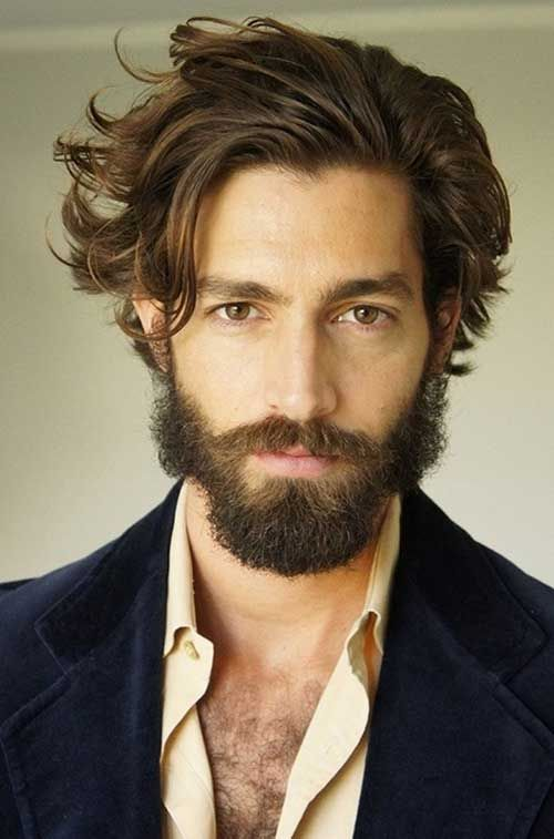 Mid Long Hairstyles Men Hair Pinterest Hairstyles Hair And