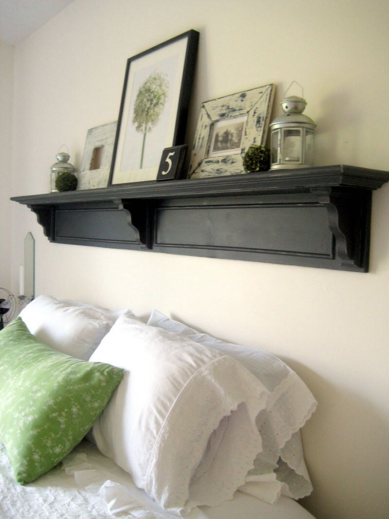 dreamy diy headboards you can make by bedtime page of headboard shelvesbed shelvesshelving over also rh pinterest