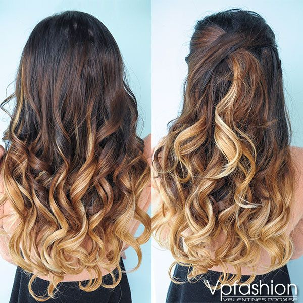 Amazing Hair Style With Ombre Extensions #vpfashion Trending