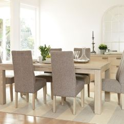 Tulip Table And Chairs Nz Upholstered Vanity Chair Edminton 7 Piece Dining Suite By Morgan Furniture Harvey
