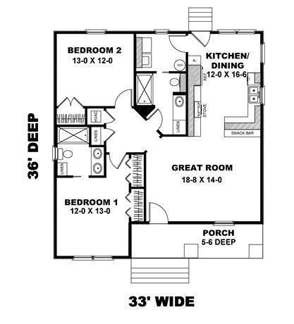 Small Story House Plans Without Garage And Design