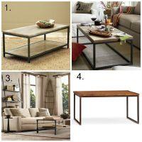 Vittsjo Ikea Hack - DIY Industrial Chic Wood Coffee Table ...