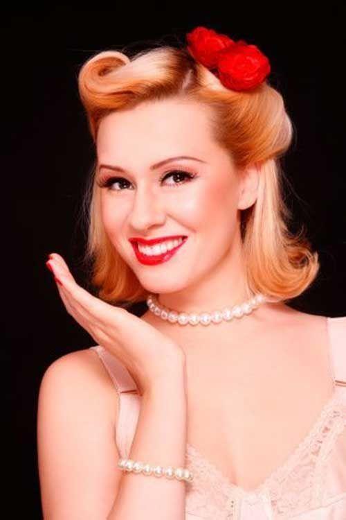 50s Women Short Hairstyles Vintage Pinterest Pin Up