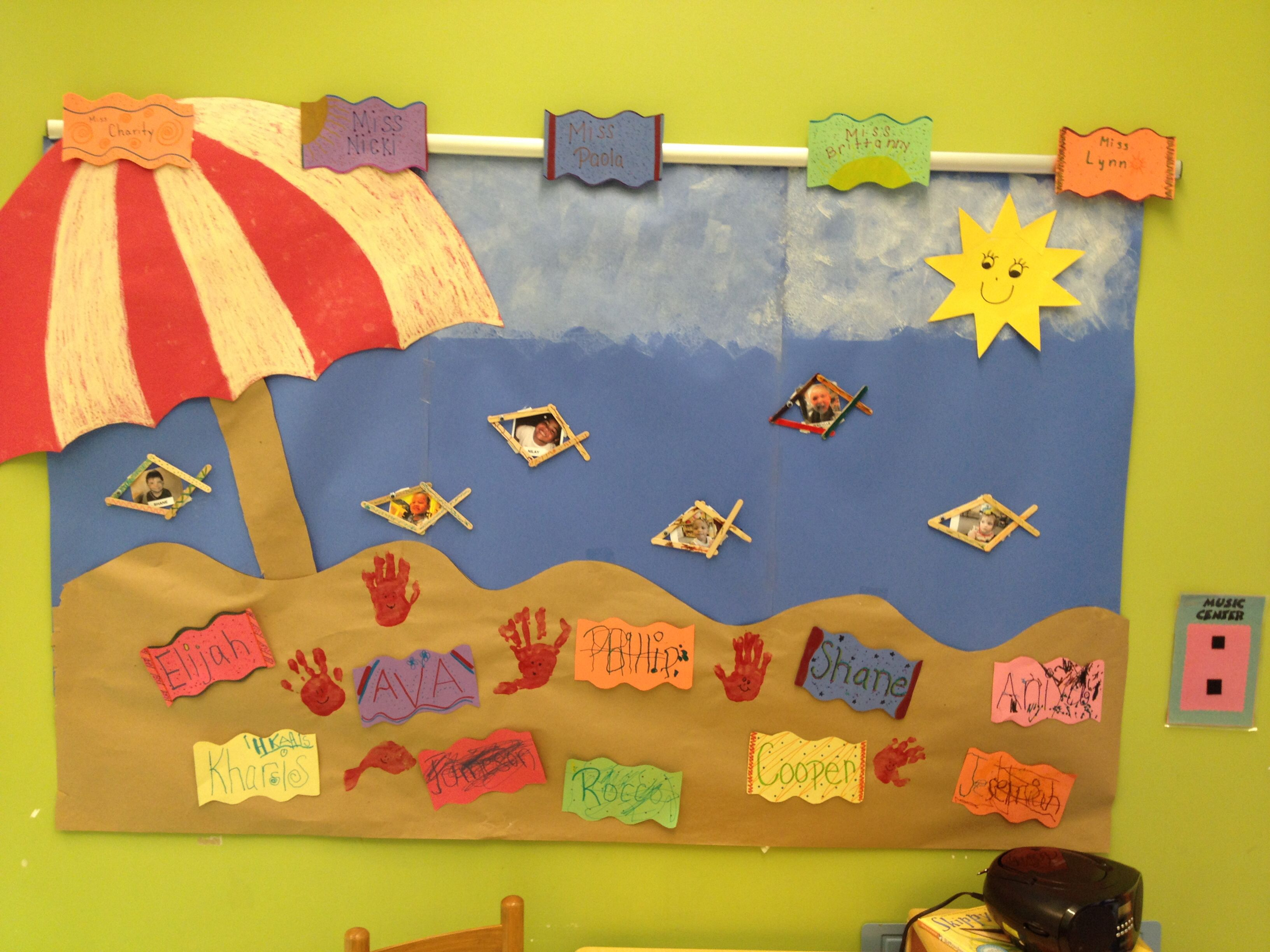 Summer Collage My Pre K Class Is Loving Our Summer Beach