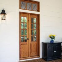 Charleston Narrow Exterior French Doors Design Ideas ...