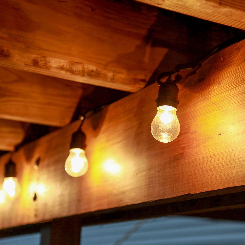 Heavy Duty 15Socket Vintage Light Strand with Bulbs
