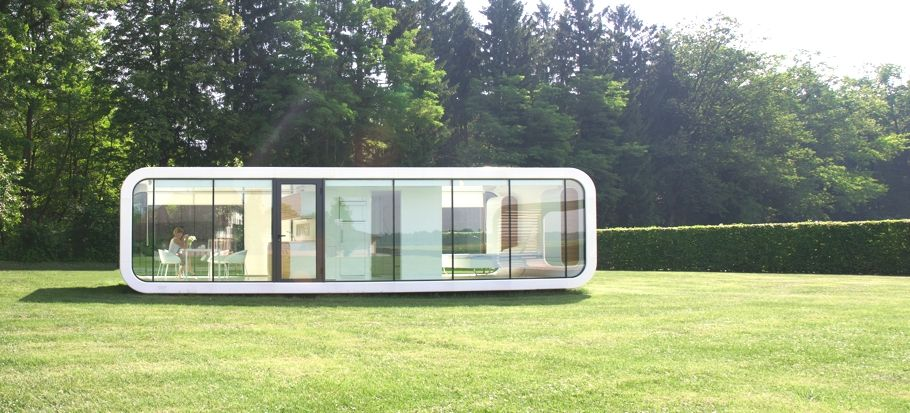 Contemporary Mobile Home Design Tribute To Peaceful Living