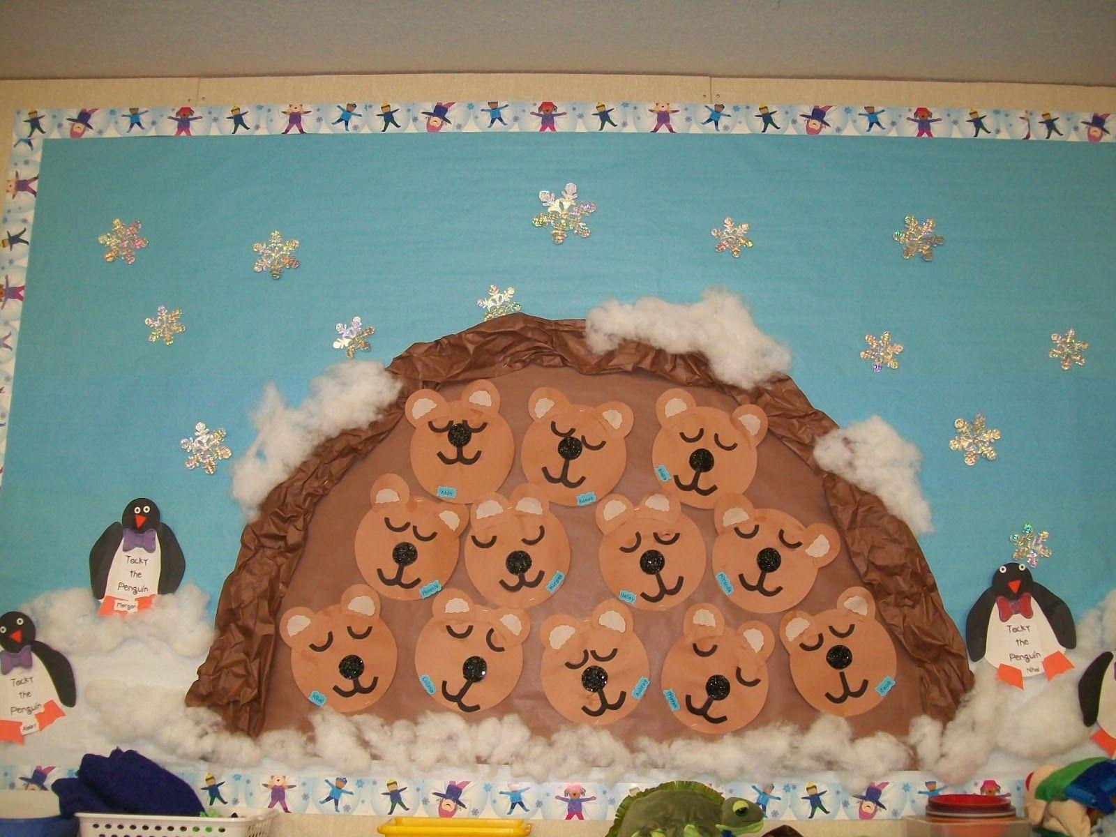 Winter Preschool Bullitan Boards