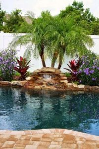 Incredible 1000 Ideas About Tropical Pool Landscaping On ...