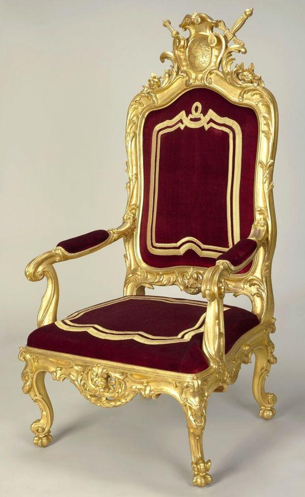 Throne Chair Of Stanislaus Augustus Jan Christian