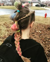 Crazy Hair Ideas For Long Hair  Hairstyle of Nowdays