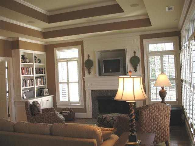 How To Paint Tray Ceilings With Color? Home Decorating & Design