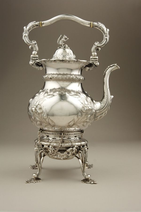 Adolphe Himmel Hot Water Kettle Stand .1855-61