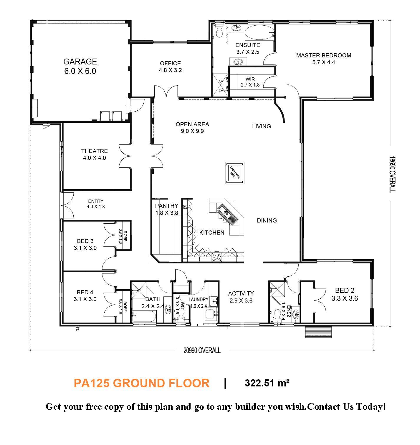 Free House Floor Plans